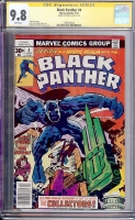 Black Panther #4 CGC 9.8 w CGC Signature SERIES