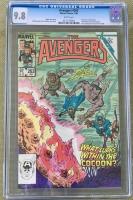 Avengers #263 CGC 9.8 w