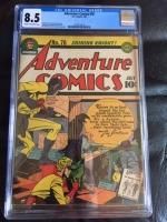 Adventure Comics #76 CGC 8.5 cr/ow