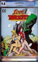 Love and Rockets #2 CGC 9.8 w
