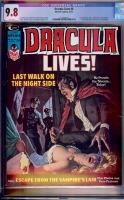 Dracula Lives #8 CGC 9.8 w