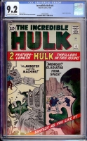 Incredible Hulk #4 CGC 9.2 ow/w