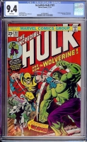 Incredible Hulk #181 CGC 9.4 w