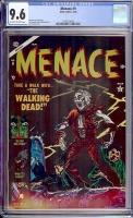 Menace #9 CGC 9.6 ow/w