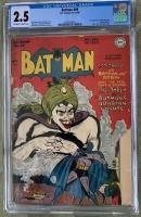 Batman #49 CGC 2.5 ow/w