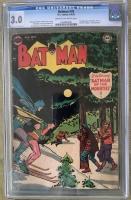 Batman #78 CGC 3.0 cr/ow