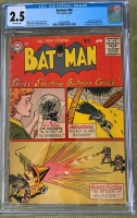 Batman #98 CGC 2.5 ow