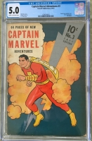 Captain Marvel Adventures #3 CGC 5.0 cr/ow