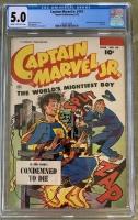 Captain Marvel Jr. #119 CGC 5.0 cr/ow