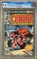 Conan The Barbarian #95 CGC 9.8 ow/w