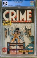 Crime Does Not Pay #47 CGC 9.0 w