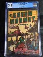 Green Hornet Comics #25 CGC 3.5 cr/ow