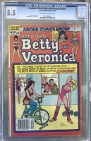 Archie's Girls, Betty and Veronica #321 CGC 5.5 ow/w