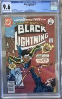 Black Lightning #2 CGC 9.6 ow/w