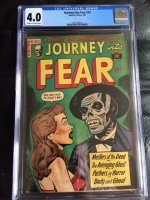 Journey Into Fear #20 CGC 4.0 cr/ow