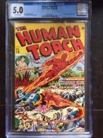 Human Torch #18 CGC 5.0 ow