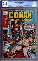 Conan The Barbarian #2 CGC 9.4 w