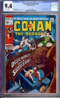 Conan The Barbarian #6 CGC 9.4 w