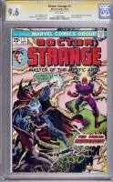 Doctor Strange #3 CGC 9.6 w CGC Signature SERIES
