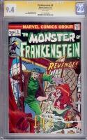Frankenstein #3 CGC 9.4 w CGC Signature SERIES