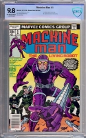 Machine Man #1 CBCS 9.8 ow/w Newsstand Edition