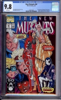 New Mutants #98 CGC 9.8 w
