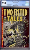 Two-Fisted Tales #30 CGC 9.8 ow/w Gaines File Copy