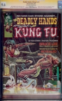Deadly Hands of Kung Fu #1 CGC 9.6 ow/w CGC Signature SERIES