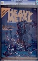 Heavy Metal #1 CGC 9.8 w