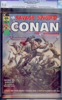 Savage Sword of Conan #1 CGC 9.8 ow/w