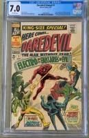 Daredevil Annual #1 CGC 7.0 ow
