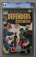 Defenders #17 CGC 9.4 ow/w