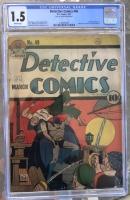 Detective Comics #49 CGC 1.5 b