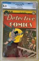 Detective Comics #92 CGC 4.5 ow/w
