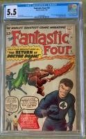 Fantastic Four #10 CGC 5.5 ow/w