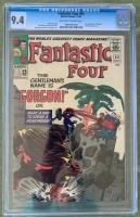 Fantastic Four #44 CGC 9.4 ow/w