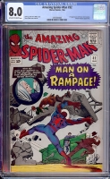Amazing Spider-Man #32 CGC 8.0 ow/w
