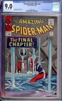 Amazing Spider-Man #33 CGC 9.0 ow/w