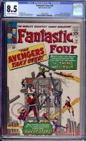 Fantastic Four #26 CGC 8.5 ow/w