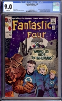 Fantastic Four #45 CGC 9.0 w