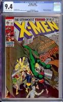 X-Men #60 CGC 9.4 ow/w