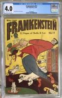 Frankenstein #13 CGC 4.0 ow/w