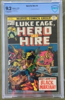 Hero For Hire #5 CBCS 9.2 ow/w