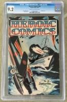 Heroic Comics #26 CGC 9.2 cr/ow