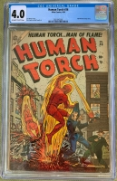 Human Torch #36 CGC 4.0 ow/w