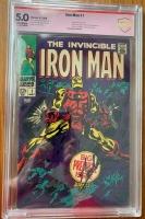 Iron Man #1 CBCS 5.0 ow