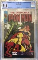 Iron Man #2 CGC 9.6 ow/w