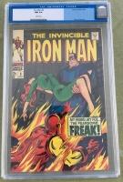 Iron Man #3 CGC 9.4 w