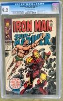 Iron Man And Sub-Mariner #1 CGC 9.2 ow/w