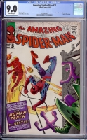 Amazing Spider-Man #21 CGC 9.0 ow